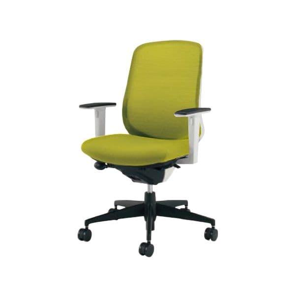 コクヨ(KOKUYO) オフィスチェア ミドルバック Scirocco(シロッコ) CR-G2613E1-V [事務用チェア オフィス用品 オフィス用 オフィス家具 チェア 椅子 イス 事務椅子 デスクチェア パソコンチェア スタンダード 高機能 SCIROCCO シロッコ]