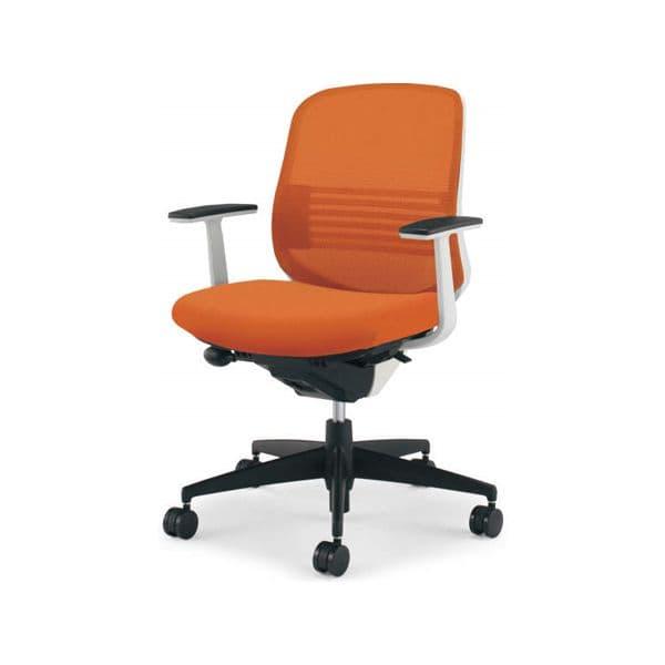 コクヨ(KOKUYO) オフィスチェア ローバック Scirocco(シロッコ) CR-G2621E1 [事務用チェア オフィス用品 オフィス用 オフィス家具 チェア 椅子 イス 事務椅子 デスクチェア パソコンチェア スタンダード 高機能 SCIROCCO シロッコ]