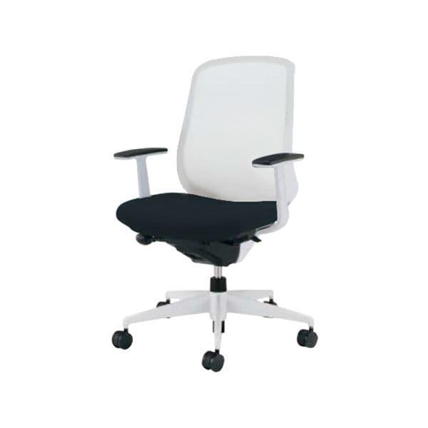 コクヨ(KOKUYO) オフィスチェア ハイバック Scirocco(シロッコ) CR-GW2603E1C-W [事務用チェア オフィス用品 オフィス用 オフィス家具 チェア 椅子 イス 事務椅子 デスクチェア パソコンチェア スタンダード 高機能 SCIROCCO シロッコ]