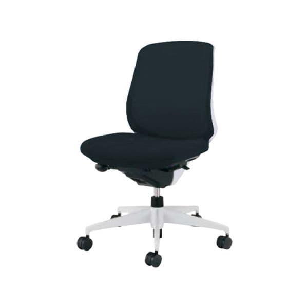 コクヨ(KOKUYO) オフィスチェア ミドルバック Scirocco(シロッコ) CR-GW2600E1-W [事務用チェア オフィス用品 オフィス用 オフィス家具 チェア 椅子 イス 事務椅子 デスクチェア パソコンチェア スタンダード 高機能 SCIROCCO シロッコ]