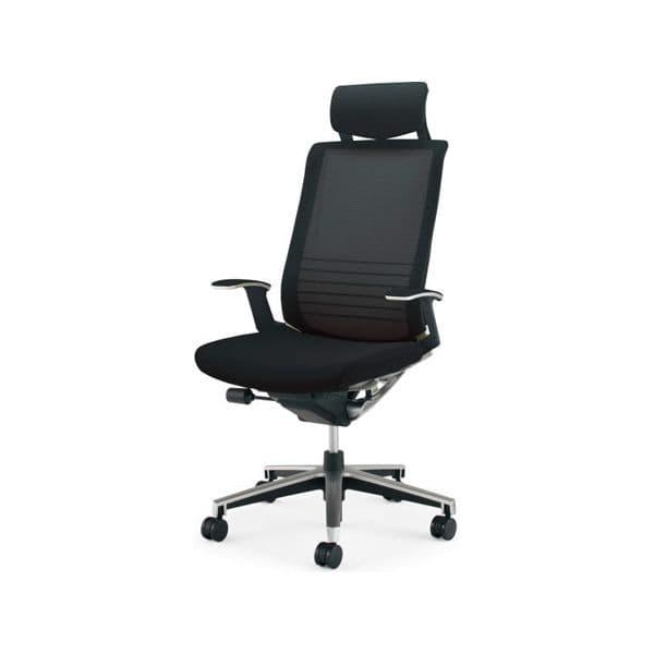コクヨ(KOKUYO) オフィスチェアエクストラハイバック INSPINE(インスパイン)ナイロンキャスター CR-GA2505E6-W [事務用チェア オフィス家具 チェア 椅子 イス 事務椅子 デスクチェア パソコンチェア 高機能 INSPINE インスパイン]