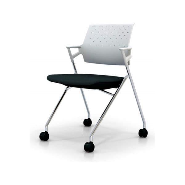 コクヨ(KOKUYO) ミーティングチェア Piega(ピエガ) CK-M720PAW [会議イス 学校 体育館 公民館 チェア いす 椅子 集会場 業務用 会議用椅子 会議椅子 会議室 オフィス家具 オフィス用 オフィス用品 スタッキングチェア]