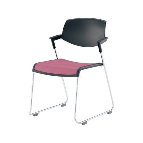 コクヨ(KOKUYO) ミーティングチェア Satio(サティオ) CK-M620E6VR [会議イス 学校 体育館 公民館 チェア いす 椅子 集会場 業務用 会議用椅子 会議椅子 会議室 オフィス家具 オフィス用 オフィス用品 スタッキングチェア]
