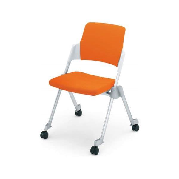 コクヨ(KOKUYO) ミーティングチェア Amphi(アンフィ) CK-670CR [会議イス 学校 体育館 公民館 チェア いす 椅子 集会場 業務用 会議用椅子 会議椅子 会議室 オフィス家具 折りたたみチェア ミーティング用チェア ミーティングチェア スタッキングチェア]