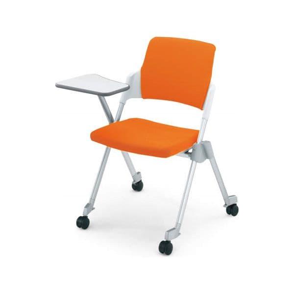コクヨ(KOKUYO) ミーティングチェア Amphi(アンフィ) CK-675CR [会議イス 学校 体育館 公民館 チェア いす 椅子 集会場 業務用 会議用椅子 会議椅子 会議室 オフィス家具 折りたたみチェア ミーティング用チェア ミーティングチェア スタッキングチェア]