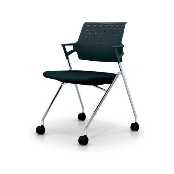 コクヨ(KOKUYO) ミーティングチェア Piega(ピエガ) CK-M720E6 [会議イス 学校 体育館 公民館 チェア いす 椅子 集会場 業務用 会議用椅子 会議椅子 会議室 オフィス家具 オフィス用 オフィス用品 スタッキングチェア]