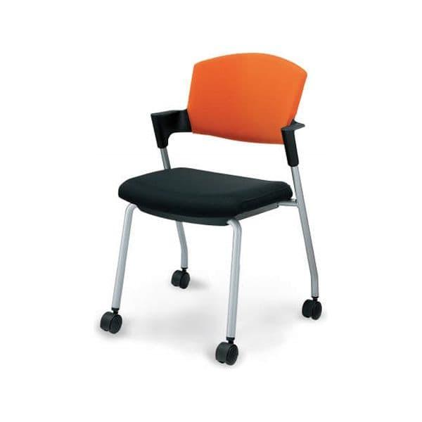 コクヨ(KOKUYO) ミーティングチェア Protty(プロッティ) CK-587C-W-1 [会議イス 学校 体育館 公民館 チェア いす 椅子 集会場 業務用 会議用椅子 会議椅子 会議室 オフィス家具 オフィス用 オフィス用品 スタッキングチェア]