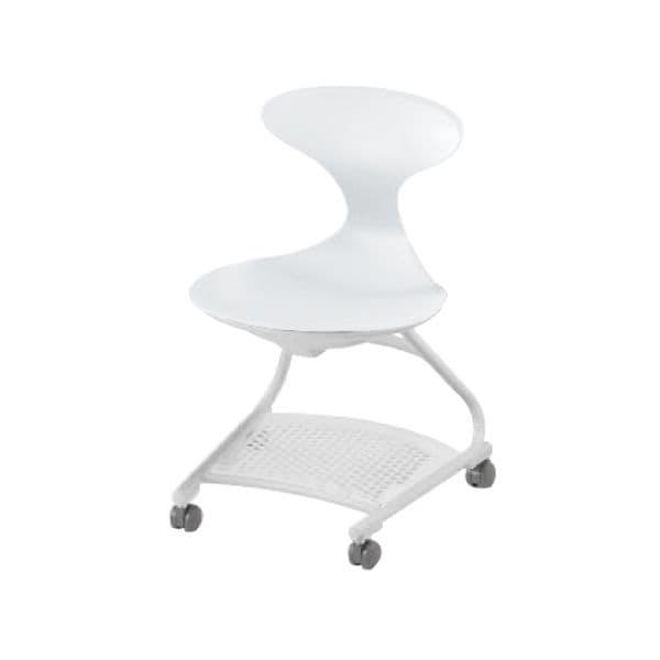 コクヨ(KOKUYO) ミーティングチェア CampusUP(キャンパスアップ) CAC-200E1S-W [会議イス 学校 体育館 公民館 チェア いす 椅子 集会場 業務用 会議用椅子 会議椅子 会議室 オフィス家具 オフィス用 オフィス用品]