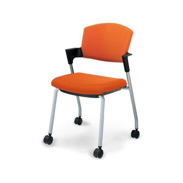 コクヨ(KOKUYO) ミーティングチェア Protty(プロッティ) CK-597C-W [会議イス 学校 体育館 公民館 チェア いす 椅子 集会場 業務用 会議用椅子 会議椅子 会議室 オフィス家具 オフィス用 オフィス用品 スタッキングチェア]