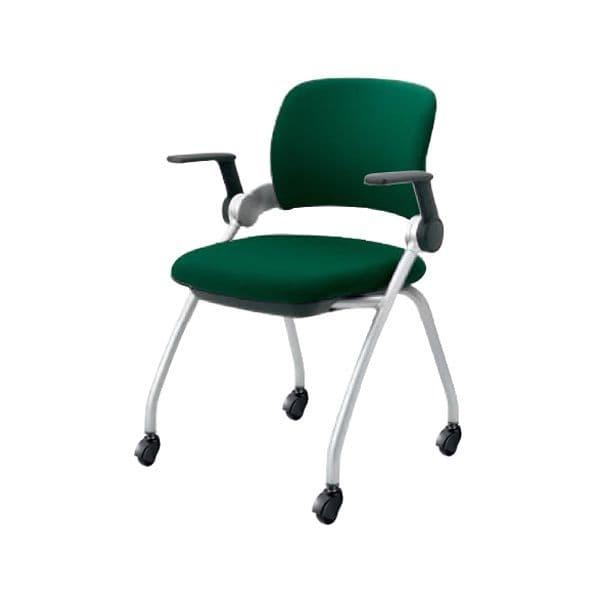 コクヨ(KOKUYO) オフィスチェア ミーティングチェア Sixa(シグザ) CK-351C-VN [会議イス 学校 体育館 公民館 チェア いす 椅子 集会場 業務用 会議用椅子 会議椅子 会議室 オフィス家具 オフィス用 オフィス用品]