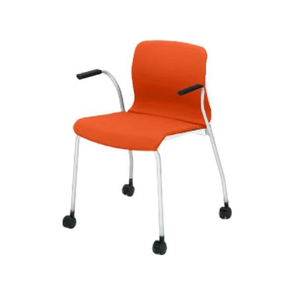 コクヨ(KOKUYO) ミーティングチェア ALINAC(アリーナシー) CK-785PAWC [会議イス 学校 体育館 公民館 チェア いす 椅子 集会場 業務用 会議用椅子 会議椅子 会議室 オフィス家具 オフィス用 オフィス用品 スタッキングチェア]