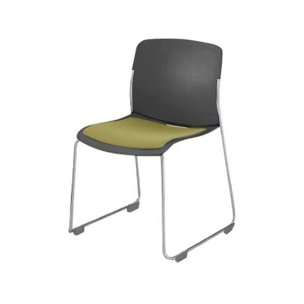 コクヨ(KOKUYO) ミーティングチェア AMOS(アモス) CK-M870F5JA-D [会議イス 学校 体育館 公民館 チェア いす 椅子 集会場 業務用 会議用椅子 会議椅子 会議室 オフィス家具 オフィス用 オフィス用品 スタッキングチェア]