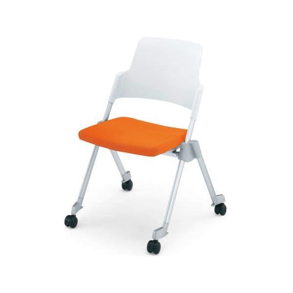 コクヨ(KOKUYO) ミーティングチェア Amphi(アンフィ) CK-670C [会議イス 学校 体育館 公民館 チェア いす 椅子 集会場 業務用 会議用椅子 会議椅子 会議室 オフィス家具 折りたたみチェア ミーティング用チェア ミーティングチェア スタッキングチェア]