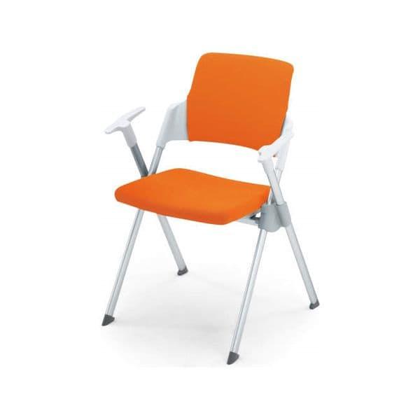 コクヨ(KOKUYO) ミーティングチェア Amphi(アンフィ) CK-671R [会議イス 学校 体育館 公民館 チェア いす 椅子 集会場 業務用 会議用椅子 会議椅子 会議室 オフィス家具 折りたたみチェア ミーティング用チェア ミーティングチェア スタッキングチェア]