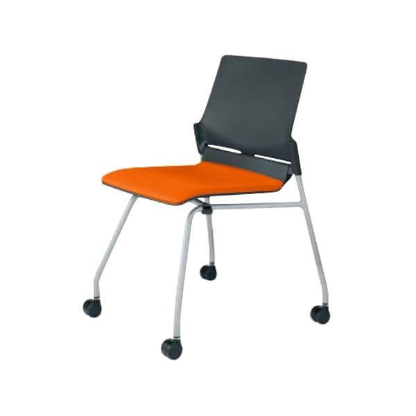 コクヨ(KOKUYO) ミーティングチェア Fitstack(フィットスタック) CK-683JA-VN [会議イス 学校 体育館 公民館 チェア いす 椅子 集会場 業務用 会議用椅子 会議椅子 会議室 オフィス家具 オフィス用 オフィス用品 スタッキングチェア]
