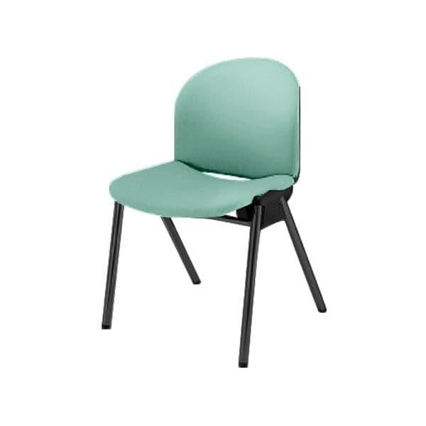 コクヨ(KOKUYO) ミーティングチェア IXCHAIR(イクスチェアー) CY-50V20N [会議イス 学校 体育館 公民館 チェア いす 椅子 集会場 業務用 会議用椅子 会議椅子 会議室 オフィス家具 オフィス用 オフィス用品 スタッキングチェア]