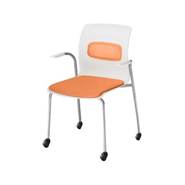 コクヨ(KOKUYO) ミーティングチェア pictis(ピクティス) CK-771CJY-V [会議イス 学校 体育館 公民館 チェア いす 椅子 集会場 業務用 会議用椅子 会議椅子 会議室 オフィス家具 オフィス用 オフィス用品 スタッキングチェア]