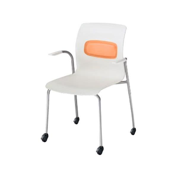 コクヨ(KOKUYO) ミーティングチェア pictis(ピクティス) CK-771C-V [会議イス 学校 体育館 公民館 チェア いす 椅子 集会場 業務用 会議用椅子 会議椅子 会議室 オフィス家具 オフィス用 オフィス用品 スタッキングチェア]