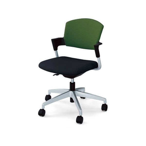 コクヨ(KOKUYO) オフィスチェア ミーティングチェア Protty(プロッティ) CK-585-W-2 [会議イス 学校 体育館 公民館 チェア いす 椅子 集会場 業務用 会議用椅子 会議椅子 会議室 オフィス家具 オフィス用 オフィス用品]