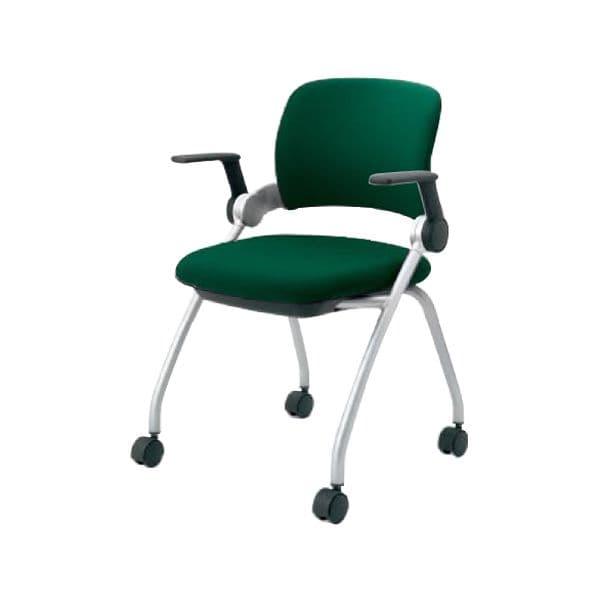 コクヨ(KOKUYO) オフィスチェア ミーティングチェア Sixa(シグザ) CK-351C-WN [会議イス 学校 体育館 公民館 チェア いす 椅子 集会場 業務用 会議用椅子 会議椅子 会議室 オフィス家具 オフィス用 オフィス用品]