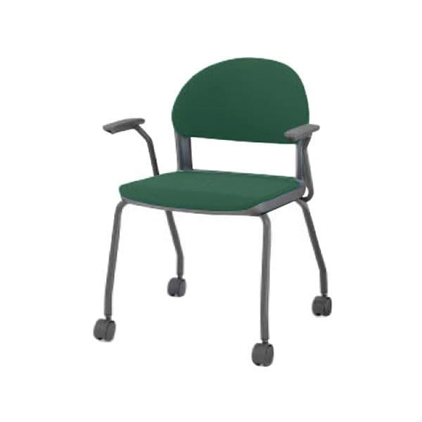 コクヨ(KOKUYO) ミーティングチェア 会議用イス150 CK-151CF4JA-WN [会議イス 学校 体育館 公民館 チェア いす 椅子 集会場 業務用 会議用椅子 会議椅子 会議室 オフィス家具 オフィス用 オフィス用品 スタッキングチェア]