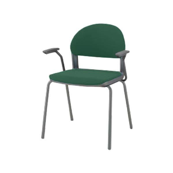 コクヨ(KOKUYO) ミーティングチェア 会議用イス150 CK-151F4JA [会議イス 学校 体育館 公民館 チェア いす 椅子 集会場 業務用 会議用椅子 会議椅子 会議室 オフィス家具 オフィス用 オフィス用品 スタッキングチェア]