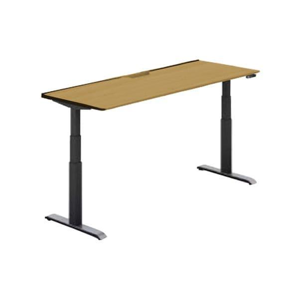 コクヨ(KOKUYO) オフィスデスク 平机 シークエンス W1600×D700×H630~1290mm SD-SEA167F6N【別途 組立費必須】 [ワーキングテーブル ワークテーブル テーブル ミーティングテーブル 長方形 オフィス家具 会議テーブル 会議用テーブル 会議机 オフィステーブル]