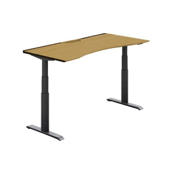 コクヨ(KOKUYO) オフィスデスク 平机 シークエンス W1400×D800×H630~1290mm SD-SEWA148F6N【別途 組立費必須】 [ワーキングテーブル ワークテーブル テーブル ミーティングテーブル 長方形 オフィス家具 会議テーブル 会議用テーブル 会議机 オフィステーブル]