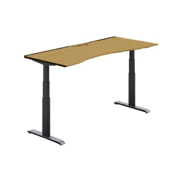 コクヨ(KOKUYO) オフィスデスク 平机 シークエンス W1500×D800×H630~1290mm SD-SEWA158F6N【別途 組立費必須】 [ワーキングテーブル ワークテーブル テーブル ミーティングテーブル 長方形 オフィス家具 会議テーブル 会議用テーブル 会議机 オフィステーブル]