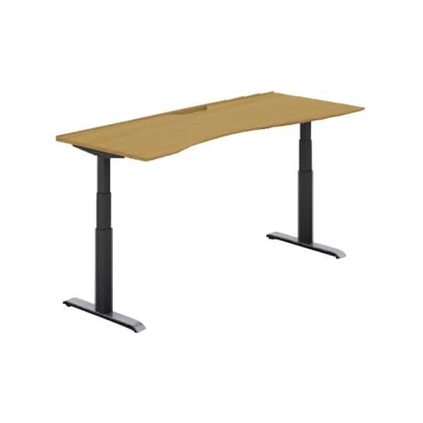コクヨ(KOKUYO) オフィスデスク 平机 シークエンス W1600×D800×H630~1290mm SD-SEWS168F6N【別途 組立費必須】 [ワーキングテーブル ワークテーブル テーブル ミーティングテーブル 長方形 オフィス家具 会議テーブル 会議用テーブル 会議机 オフィステーブル]
