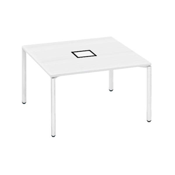 コクヨ(KOKUYO) フリーアドレスデスク ワークフィット W1200×D1200×H720mm SD-WFA1212【別途 組立費必須】 [ワーキングテーブル ワークテーブル テーブル ミーティングテーブル 長方形 会議テーブル 会議用テーブル 会議机 オフィステーブル]