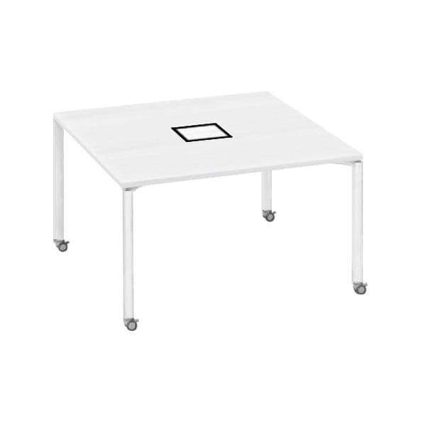 コクヨ(KOKUYO) フリーアドレスデスク ワークフィット W1200×D1200×H720mm SD-WFC1212【別途 組立費必須】 [ワーキングテーブル ワークテーブル テーブル ミーティングテーブル 長方形 会議テーブル 会議用テーブル 会議机 オフィステーブル]