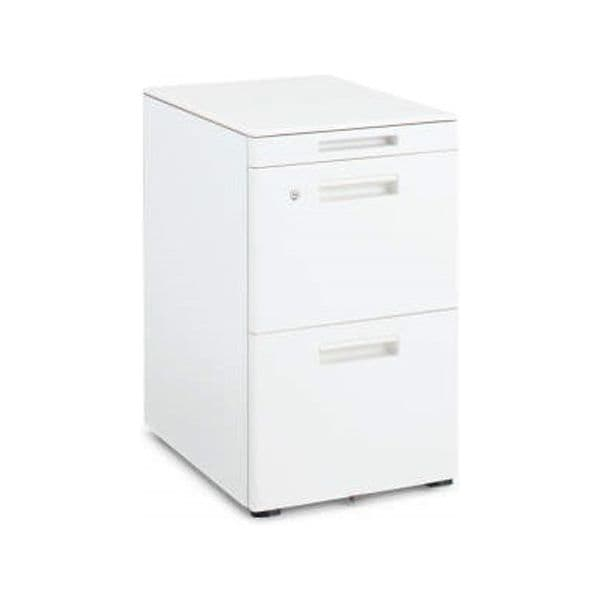 コクヨ(KOKUYO) ワゴン GT(ジーティー) W395×D602×H648mm SD-GTZ46T3 [キャビネット デスク デスク収納 脇机 収納家具 オフィス収納 オフィス家具 オフィス用 オフィス用品]