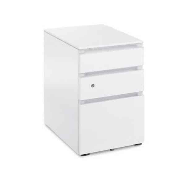 コクヨ(KOKUYO) ワゴン GX(ジーエックス) W395×D602×H600mm SD-GX46M3 [キャビネット デスク デスク収納 脇机 収納家具 オフィス収納 オフィス家具 オフィス用 オフィス用品]