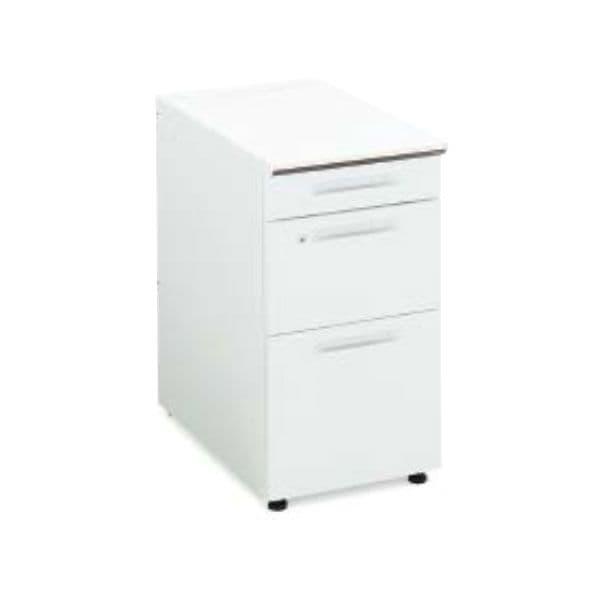 コクヨ(KOKUYO) 脇机 iS(アイエス) W400×D600×H720mm SD-ISN46ECBSN [キャビネット デスク デスク収納 ワゴン サイドデスク 収納家具 オフィス収納 オフィス家具 オフィス用 オフィス用品]