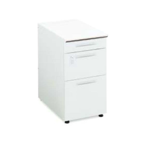 コクヨ(KOKUYO) 脇机 iS(アイエス) W400×D700×H720mm SD-ISN47EDCBSN [キャビネット デスク デスク収納 ワゴン サイドデスク 収納家具 オフィス収納 オフィス家具 オフィス用 オフィス用品]
