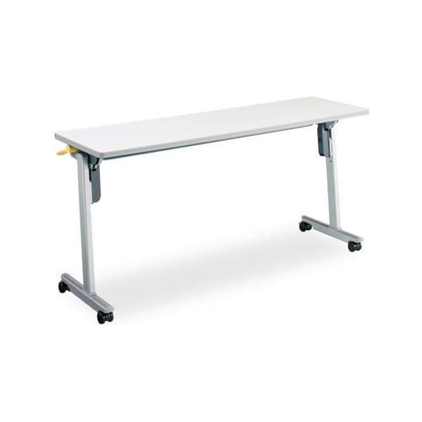 コクヨ(KOKUYO) ミーティングテーブル フォールディングテーブル LISMA(リスマ) W1500×D450×H720mm KT-1102 [会議用テーブル 会議テーブル 会議用デスク 会議デスク 折りたたみテーブル 休憩室 食堂 テーブル 跳ね上げ式テーブル]
