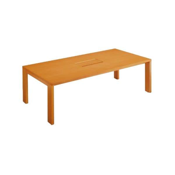 コクヨ(KOKUYO) 長方形テーブル BELTIO(ベルティオ) W2400×D1200×H720mm WT-W651【別途 組立費必須】 [ワーキングテーブル ワークテーブル テーブル ミーティングテーブル 長方形 オフィス家具 会議テーブル 会議用テーブル 会議机]