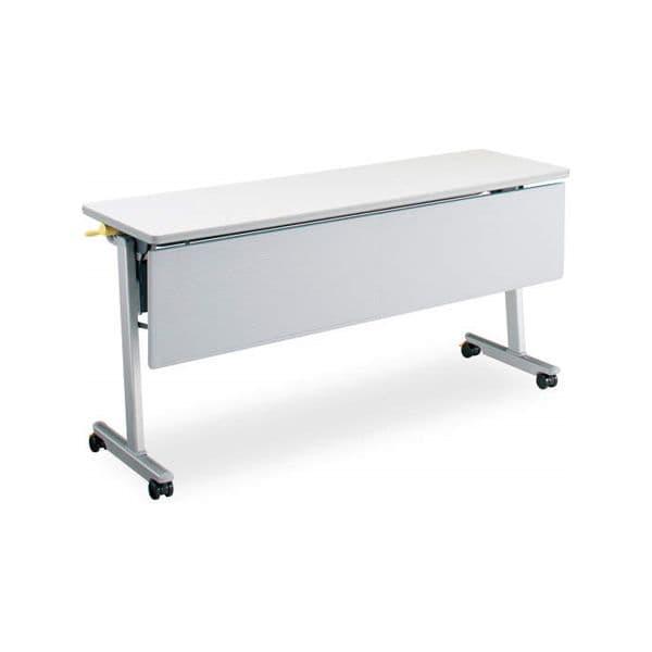 コクヨ(KOKUYO) ミーティングテーブル フォールディングテーブル LISMA(リスマ) W1500×D450×H720mm KT-P1102 [会議用テーブル 会議テーブル 会議用デスク 会議デスク 折りたたみテーブル 休憩室 食堂 テーブル 跳ね上げ式テーブル]