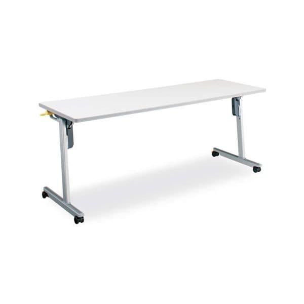 コクヨ(KOKUYO) ミーティングテーブル フォールディングテーブル LISMA(リスマ) W1800×D600×H720mm KT-1101 [会議用テーブル 会議テーブル 会議用デスク 会議デスク 折りたたみテーブル 休憩室 食堂 テーブル 跳ね上げ式テーブル]