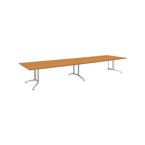 コクヨ(KOKUYO) ミーティングテーブル 長方形 WT-300シリーズ W4000×D1200×H720mm WT-W305【別途 組立費必須】 [会議用テーブル 会議テーブル 会議用デスク 会議デスク 休憩室 食堂 オフィス用 会議室 ワーキングテーブル 作業テーブル テーブル]