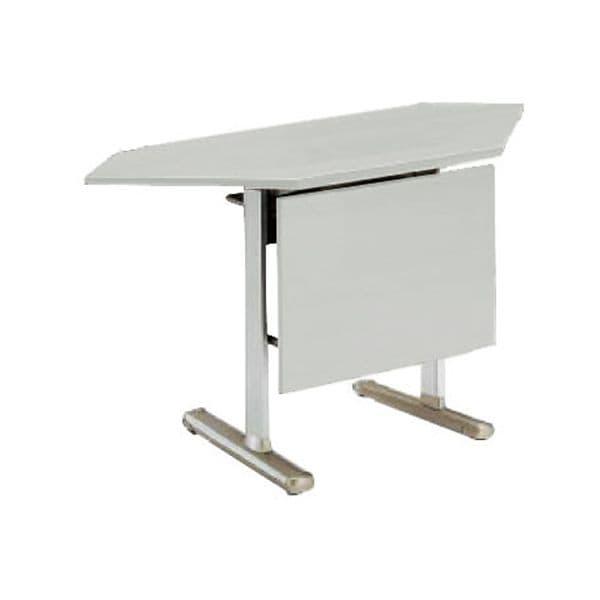 コクヨ(KOKUYO) ミーティングテーブル KT-700シリーズ W1375×D450×H700mm KT-PMC700-CNN [会議用テーブル 会議テーブル 会議用デスク 会議デスク 休憩室 食堂 オフィス用 会議室 ワーキングテーブル 作業テーブル 作業机 テーブル 跳ね上げ式テーブル]