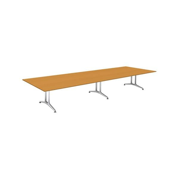 コクヨ(KOKUYO) ミーティングテーブル 長方形 WT-200シリーズ W4800×D1500×H720mm WT-W203【別途 組立費必須】 [会議用テーブル 会議テーブル 会議用デスク 会議デスク 休憩室 食堂 オフィス用 会議室 ワーキングテーブル 作業テーブル テーブル]