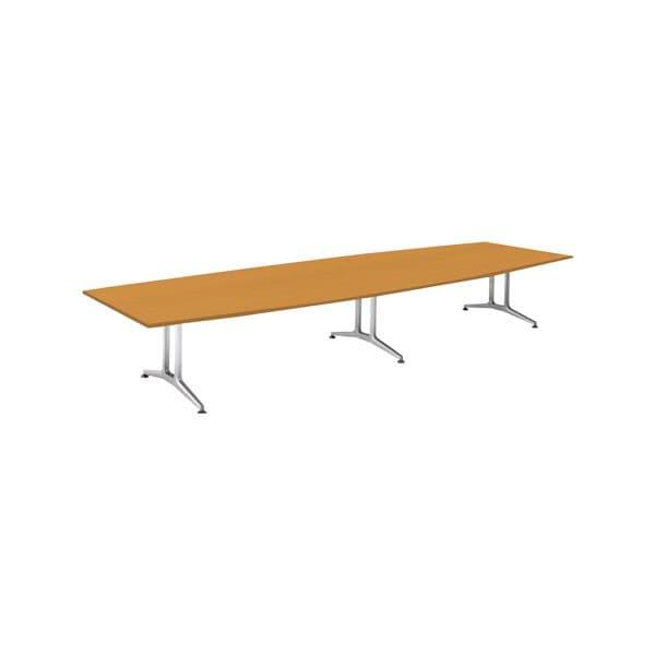 コクヨ(KOKUYO) ミーティングテーブル 舟形 WT-200シリーズ W4800×D1500×H720mm WT-W213【別途 組立費必須】 [会議用テーブル 会議テーブル 会議用デスク 会議デスク 休憩室 食堂 オフィス用 会議室 ワーキングテーブル 作業テーブル テーブル]