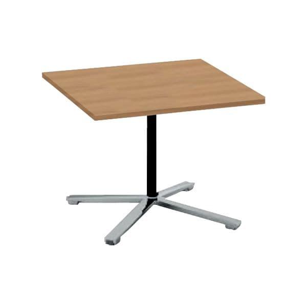 コクヨ(KOKUYO) ミーティングテーブル 正方形 VIENA(ビエナ) W900×D900×H550mm MT-V99LP-E [会議用テーブル 会議テーブル 会議用デスク 会議デスク 休憩室 食堂 オフィス用 会議室 ワーキングテーブル 作業テーブル 作業机 テーブル]