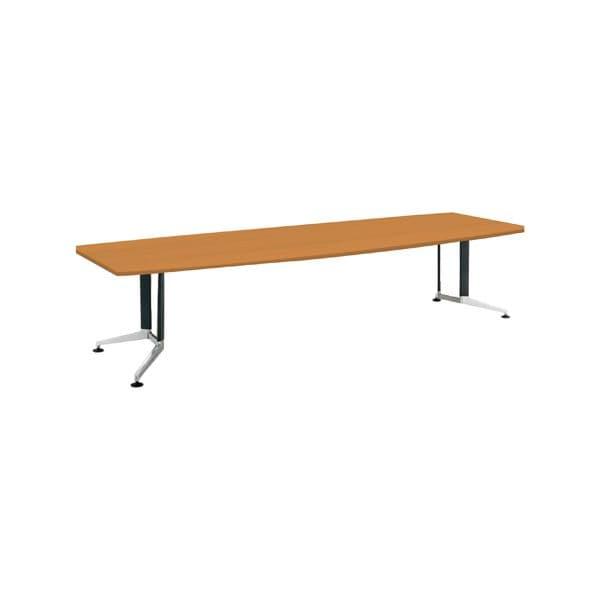 コクヨ(KOKUYO) ミーティングテーブル 舟形 WT-300シリーズ W3200×D1200×H720mm WT-PW313【別途 組立費必須】 [会議用テーブル 会議テーブル 会議用デスク 会議デスク 休憩室 食堂 オフィス用 会議室 ワーキングテーブル 作業テーブル テーブル]