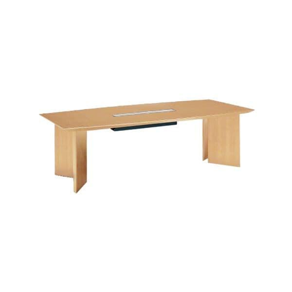 コクヨ(KOKUYO) 舟形テーブル WT-70シリーズ W2400×D1200×H720mm WT-WB70V【別途 組立費必須】 [ワーキングテーブル ワークテーブル テーブル ミーティングテーブル 舟形 オフィス家具 会議テーブル 会議用テーブル 会議机 オフィステーブル]
