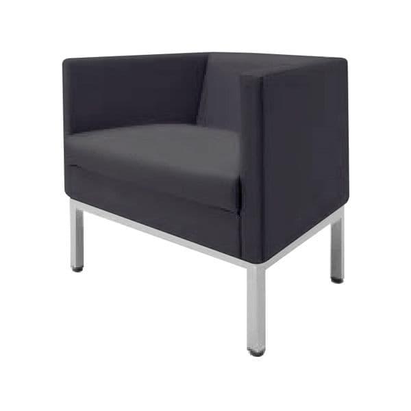 コクヨ(KOKUYO) ソファ 1人掛け AMATA(アマタ) W785×D600×H650mm XAC-CN21AHJ [いす イス 椅子 ロビー 受付 ロビーソファ チェア ベンチ オフィス家具 オフィス用 オフィス用品]