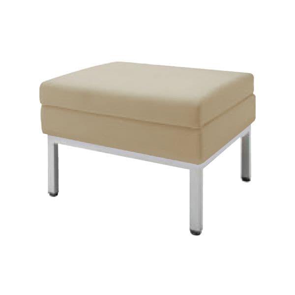 コクヨ(KOKUYO) ソファ スツール AMATA(アマタ) W600×D600×H420mm XAC-CN21BHF [いす イス 椅子 ロビー 受付 ロビーソファ チェア ベンチ オフィス家具 オフィス用 オフィス用品]