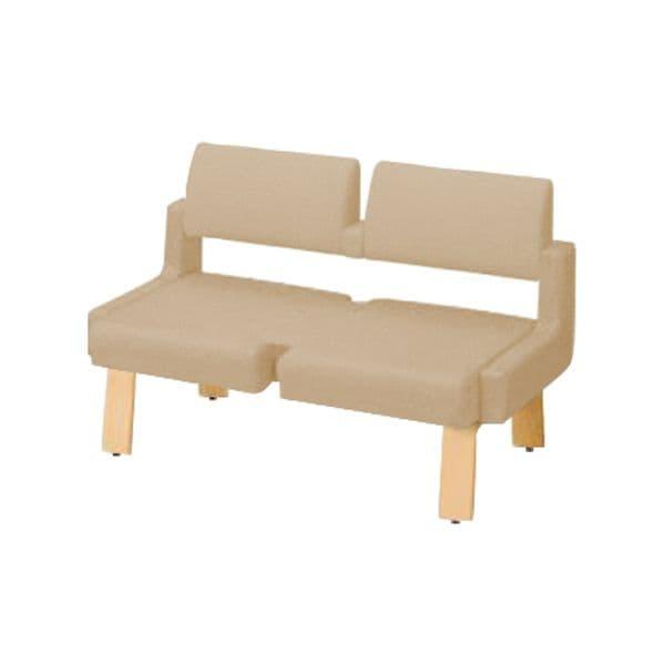 コクヨ(KOKUYO) ベンチ ロビーチェア ALRA(アルラ) W1235×D600×H800mm CN-W452LML [いす イス 椅子 ロビー 受付 ロビーソファ チェア オフィス家具 オフィス用 オフィス用品]